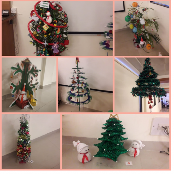 Handmade Christmas Tree's